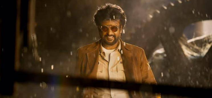 Rajinikanth Darbar fight scene making AR Murugadoss