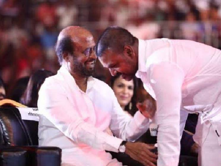 Raghava Lawrence meets Superstar Rajini and takes New Year blessings