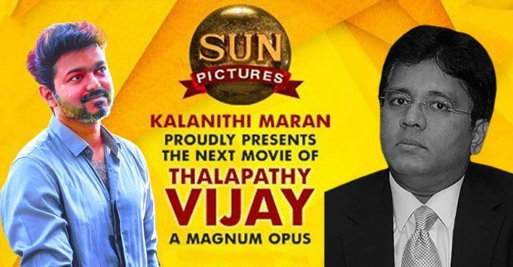 Vijay Master movie co-producer Thalapathy 65 director Sun Pictures