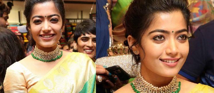 Rashmika Mandanna Sara Sari Full Video Song Bheeshma Video Song