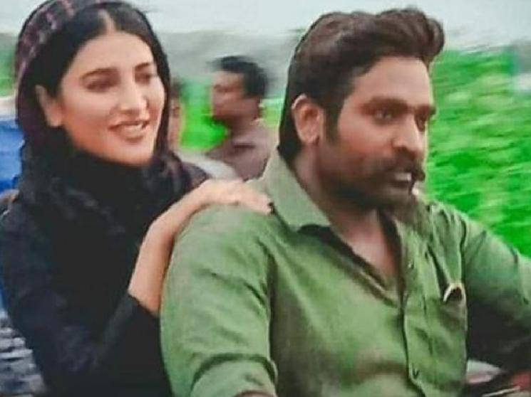Vijay Sethupathi Shruti Haasan Laabam first look released