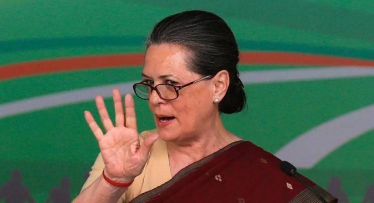 Sonia Gandhi says BJP is spreading hate across India