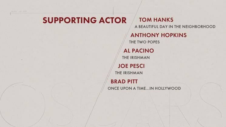Oscar Nominations 2020 Complete List Joker secures 11 nominations The Irishman Once Upon a Time in Hollywood 1971 movie