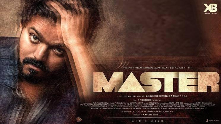 Thalapathy Vijay Master update Shanthnu Bhagyaraj Vaanam Kottattum mani ratnam madras talkies