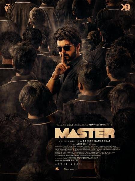 Master Movie Second Look Poster Revealed