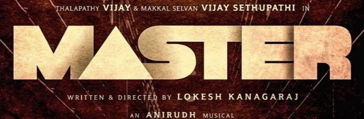 Master Movie Poster Vijay