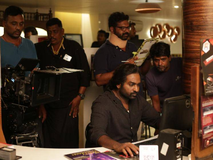 Vijay Sethupathi Megha Akash Yaadhum Oore Yaavarum Kelir first look released