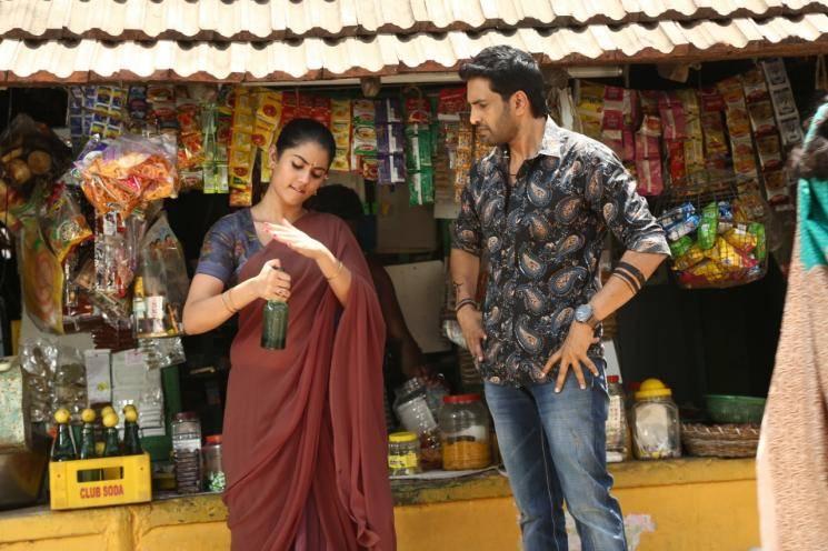 Dagaalty TV spot Santhanam Yogi Babu Ritika Sen