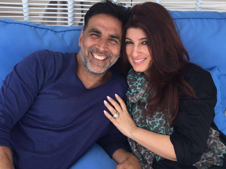 Akshay Kumar turns Pakshirajan to wish wife Twinkle on wedding anniversary