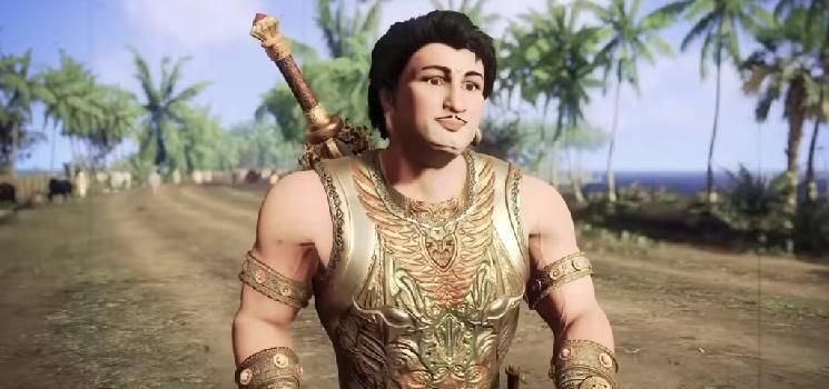 vandhiyathevan mgr film