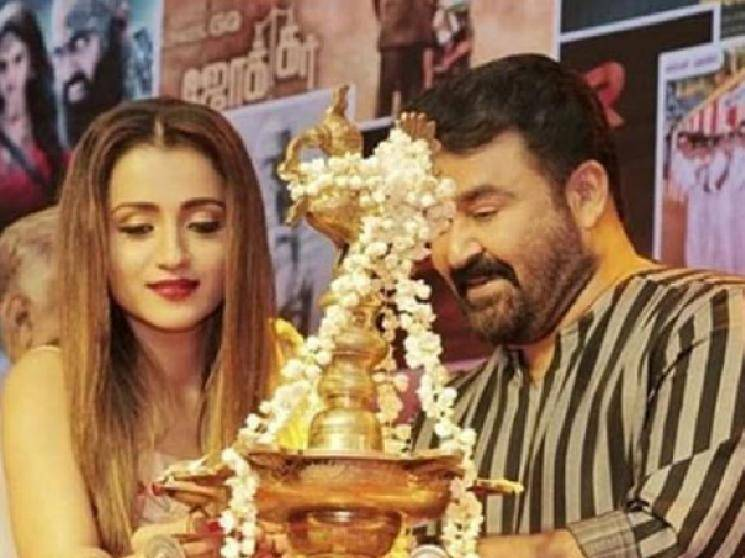 Trisha begins shooting for her next Malayalam movie Ram with Mohanlal