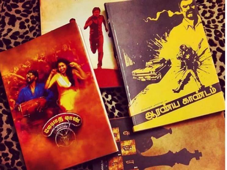 Aadai director Rathna Kumar releases book of Meyaadha Maan