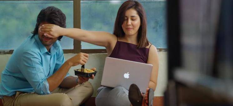 Vijay Deverakonda My Love song video World Famous Lover Raashi Khanna Aishwarya Rajesh Catherine Tresa Izabelle Leite