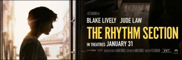 The Rhythm Section trailer Blake Lively Jude Law Eon Productions James Bond No Time To Die