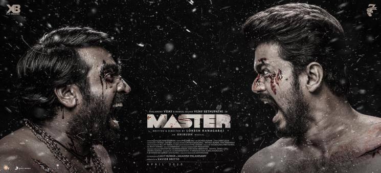 Master Movie Third Look Poster