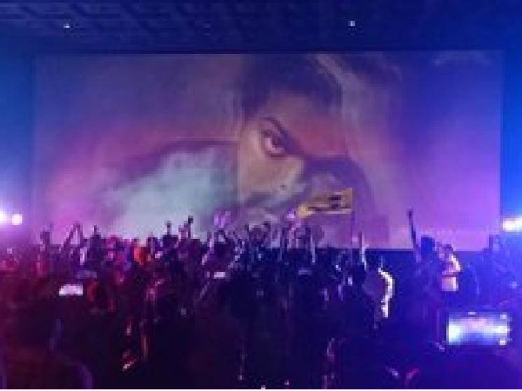 Thalapathy Vijay Sura re release celebrated wildly in Kollam