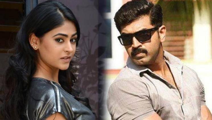 Arun Vijay Sinam shooting enters third schedule director GNR Kumaravelan Pallak Lalwani