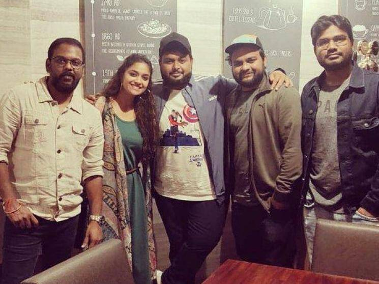 Keerthy Suresh Miss India schedule wrapped up