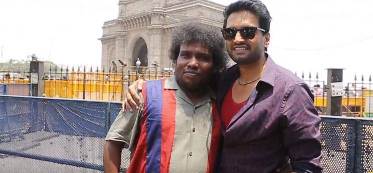 Santhanam Dagaalty making video Yogi Babu Ritika Sen