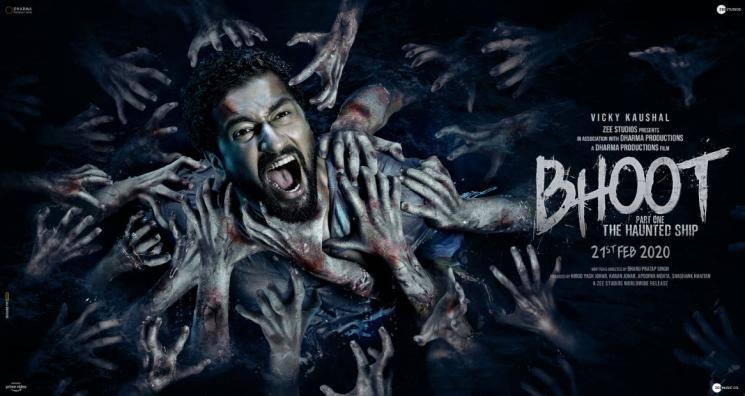 Bhoot Part One The Haunted Ship teaser Vicky Kaushal Bhumi Pednekar Bhanu Pratap Singh Karan Johar Dharma Productions
