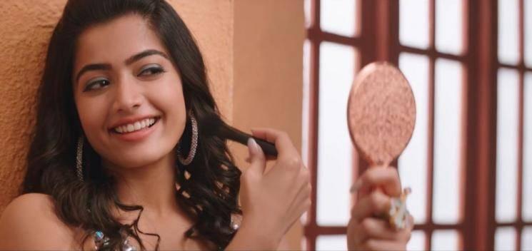 Whattey Beauty video promo Bheeshma Rashmika Mandanna Niithin Venky Kudumula Mahati Swagar Sagar
