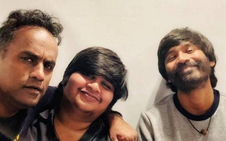 Dhanush Karthik Subbaraj D40 first look release announcement date Aishwarya Lekshmi Y Not Studios Santhosh Narayanan