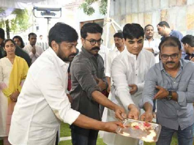 Megastar Chiranjeevi movie with Koratala Siva gets 20 Crore worth set