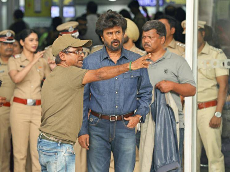 Darbar distributors stopped from entering Superstar Rajinikanth house by Police