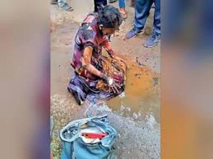 Female professor burnt alive in Maharashtra