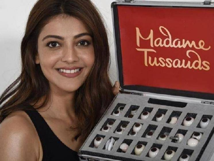 Kajal Aggarwal first South Indian actress wax statue at Madame Tussauds