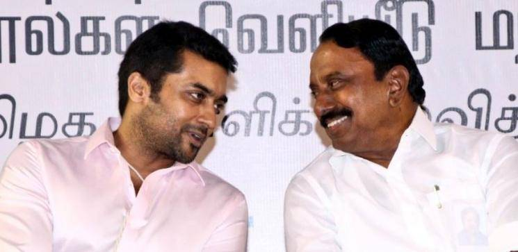 Suriya thanks TN government for withdrawal of fifth and eighth standard public exams
