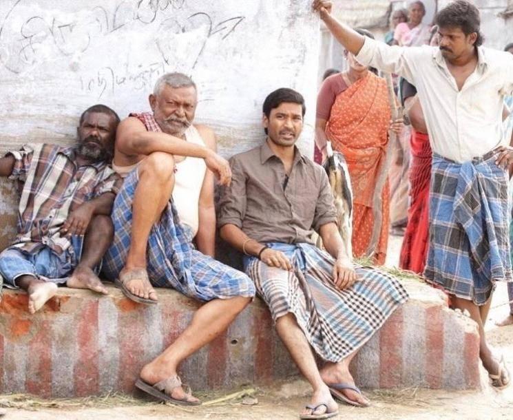 Dhanush Mari Selvaraj Karnan shooting to end in March Lal Rajisha Vijayan Lakshmi Priyaa Chandramouli Gouri G Kishan Kalaipuli S Thanu Santhosh Narayanan
