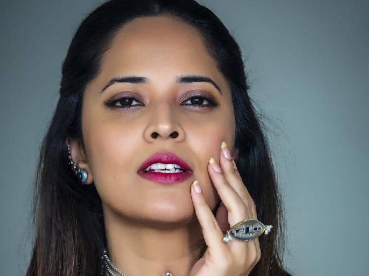 Anasuya Bharadwaj lodges cyber crime complaint against Twitter bully