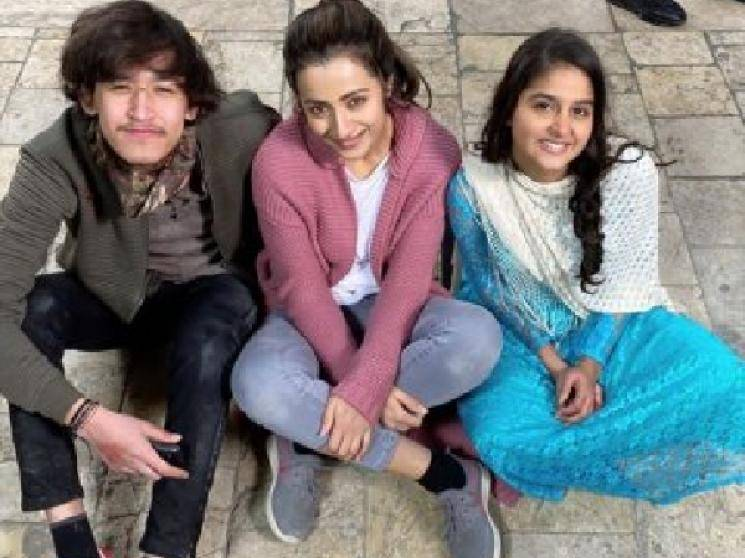 Trisha Saravanan Raangi shoot wrapped up