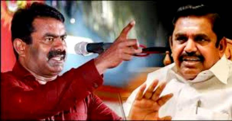 Case against Seeman for talking against TN government