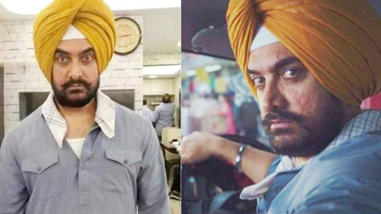 Aamir Khan Laal Singh Chaddha new poster featuring Kareena Kapoor Khan Vijay Sethupathi Forrest Gump