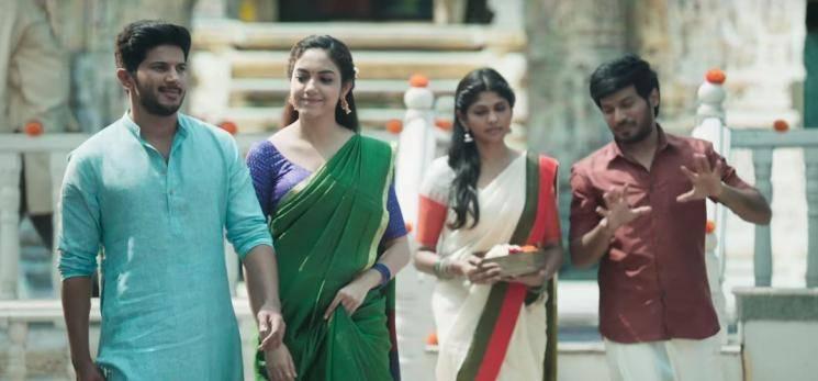 Kannum Kannum Kollaiyadithaal Ennai Vittu song Dulquer Ritu Varma