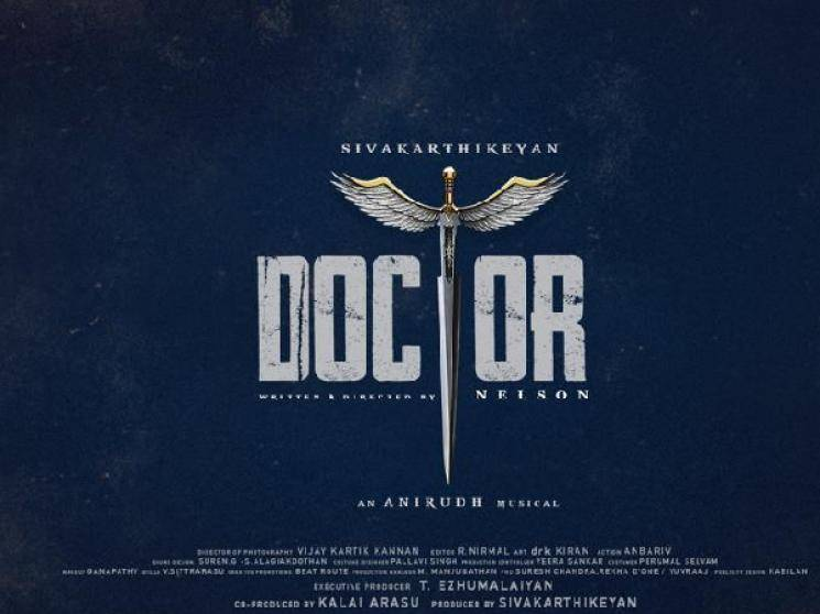 Sivakarthikeyan Doctor First Look to release tomorrow