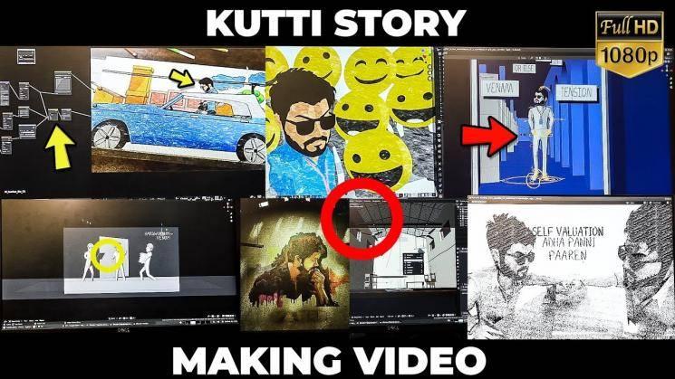 Thalapathy Vijay Master Kutti Story Making video Lokesh Kanagaraj Anirudh