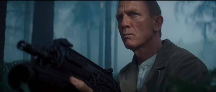 No Time To Die NBA All Star Game TV Spot Daniel Craig James Bond
