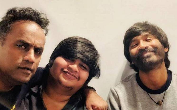 Dhanush Karthik Subbaraj D40 TN theatrical rights Trident Arts Andhra Telangana rights GA2UV