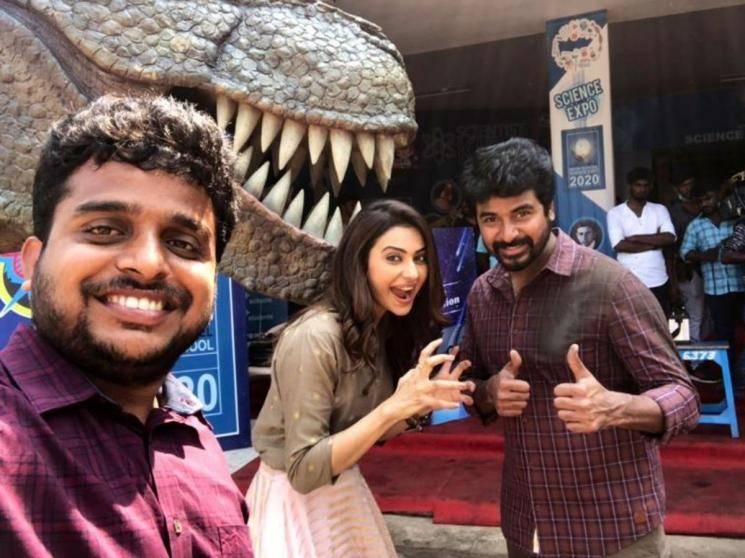Sivakarthikeyan Ayalaan completes 75 percent shooting AR Rahman director R Ravikumar Rakul Preet Singh