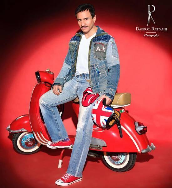 Dabboo Ratnani Calendar 2020 Saif Ali Khan