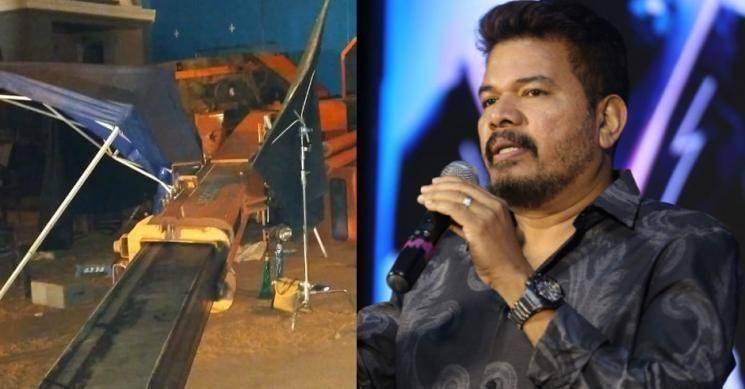 Indian 2 accident Lyca Productions Subaskaran announces 2 crores Kamal Haasan director Shankar