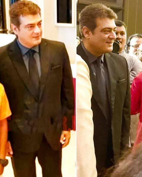 Thala Ajith first appearance after injury Valimai look revealed