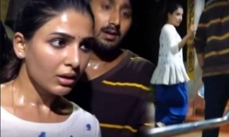 Samantha strong warning to fan at Tirupati temple in viral video