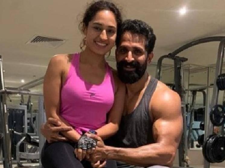 Arya shares John Kokken workout video for Pa Ranjith Arya 30