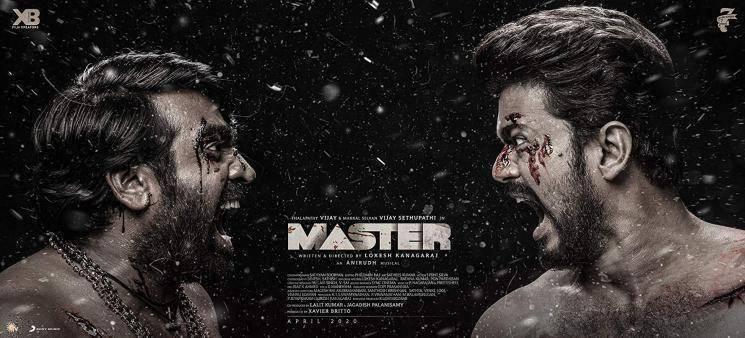 Thalapathy Vijay Master dubbing begins viral Lintu Rony Lokesh Kanagaraj Vijay Sethupathi Anirudh