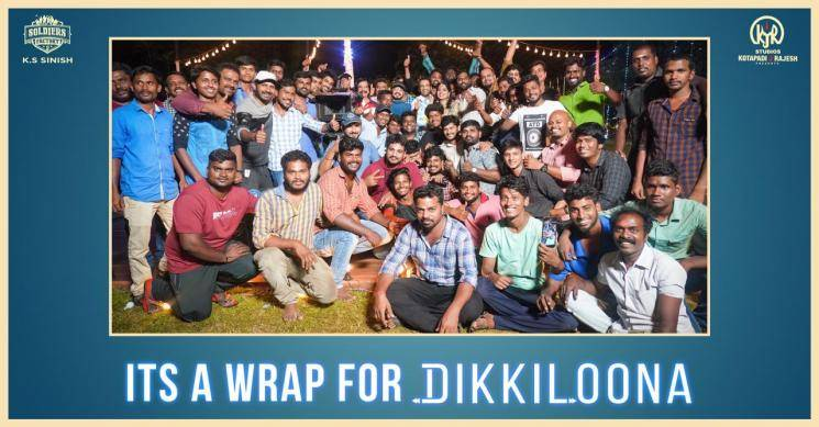 Santhanam Harbhajan Singh Dikkiloona shoot wrapped up