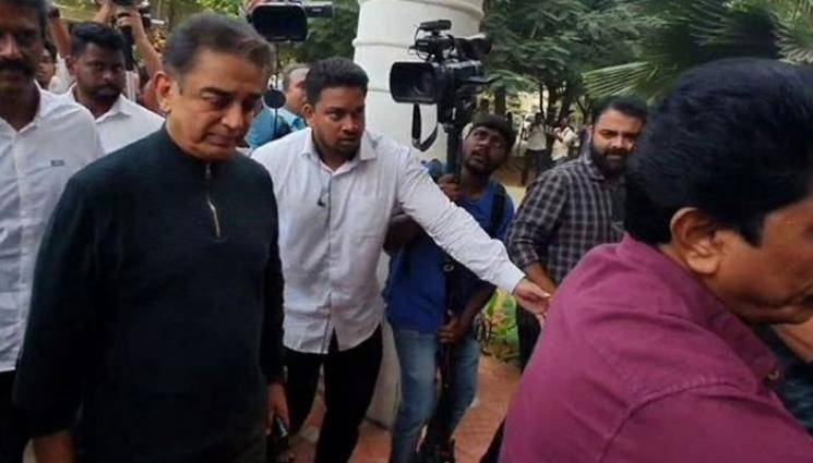 Indian 2 accident Two and half hours inquiry for Kamal Haasan by Chennai Police